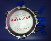 ROYALGAS LPG and CNG equipment and gas cylinders reduction / regulator